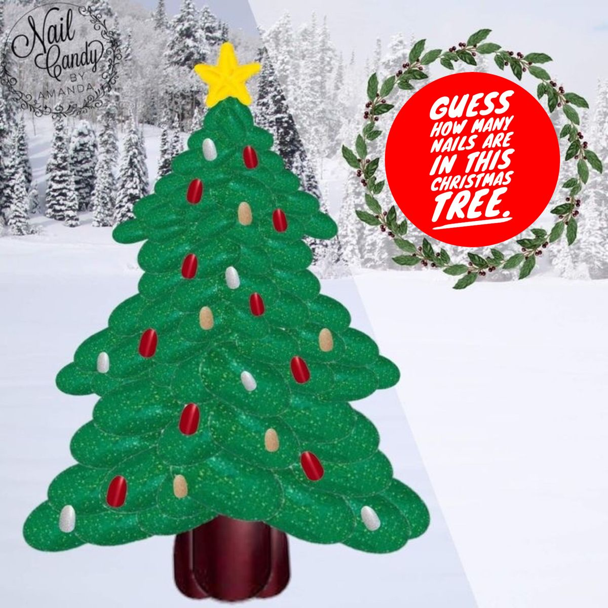 Color Street Guess How Many Nails Game In 2020 Color Street Color Street Nails Christmas Colors