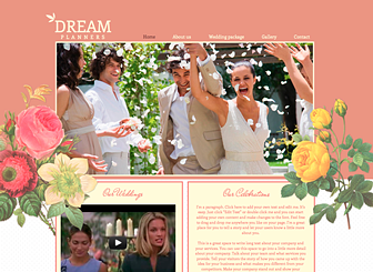 Event Planner Website Template alternative to