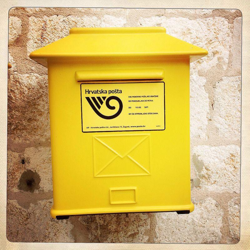 Mail Box Dubrovnik Croatia Vintage Mailbox Mailbox Dubrovnik Croatia