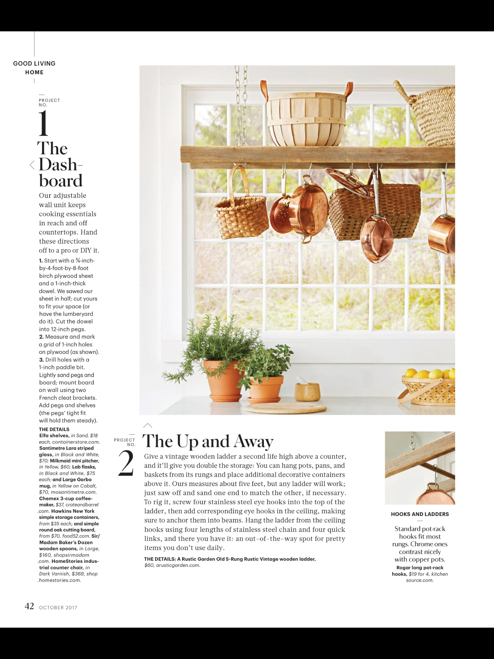 «The Well-Kept: Space Savers» de Martha Stewart Living, octobre 2017. Lisez-le sur l'appli Texture, qui vous donne accès à plus de 200 magazines de grande qualité.