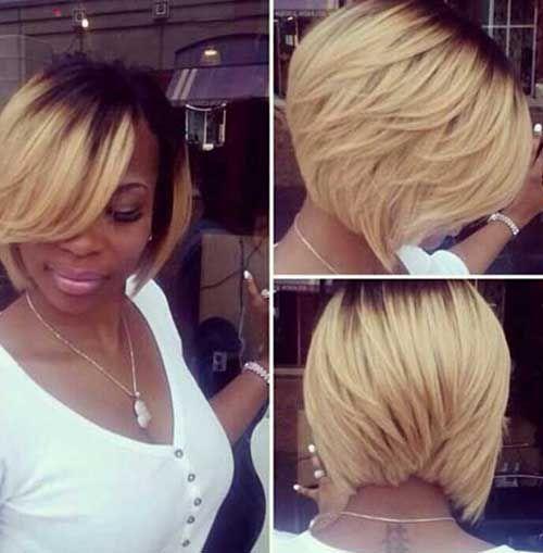 Black Hairstyles Stylish Short Bob Haircut 2017 For Women