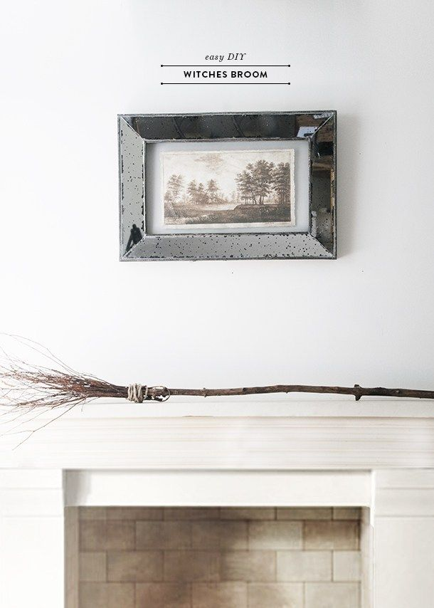 Easy DIY Witch Broom | Witch diy, Witch broom, Easy diy