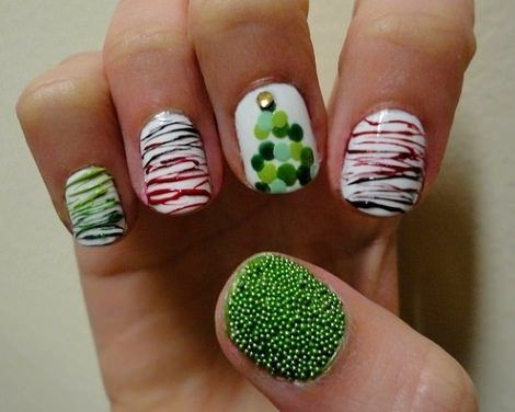 explore christmas mix simple christmas nails and more - Simple Christmas Nails