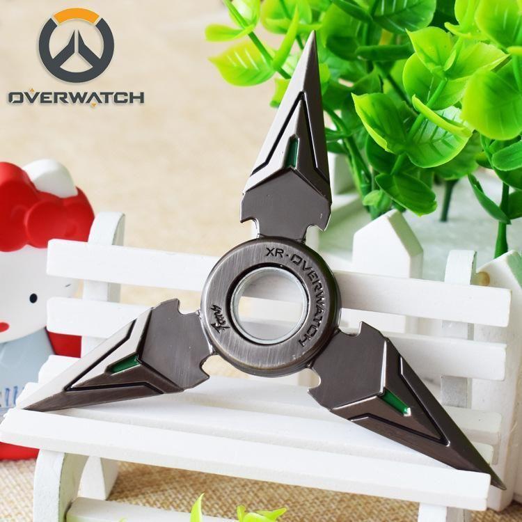 Overwatch Genji Black Ninja Fid Spinner