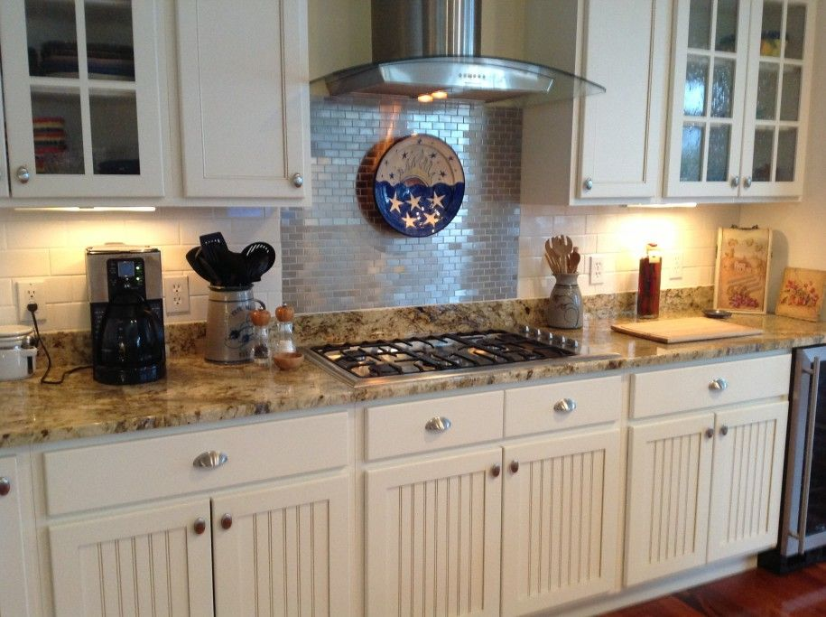 Beautiful Tile Backsplash Photo Gallery Ideas Inspiring Cozy Kitchen With White Ceramic Tile Backsplash And