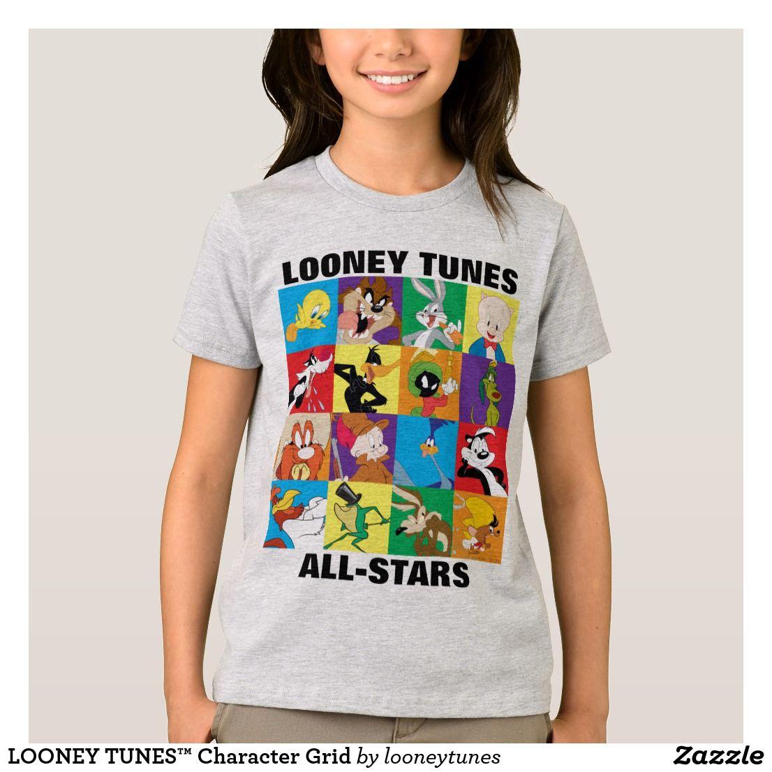 LOONEY TUNES™ Character Grid TShirt