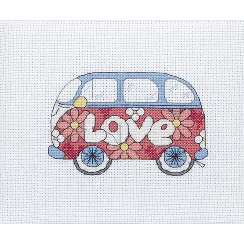 Coats Crafts Camper Van Cross Stitch Kit | Hobbycraft | Crochet ...