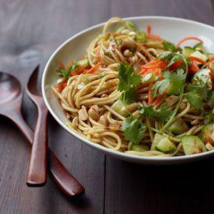 Cold Sesame Noodle Salad -