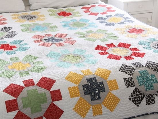 spin cycle quilt pattern by cluck cluck sew