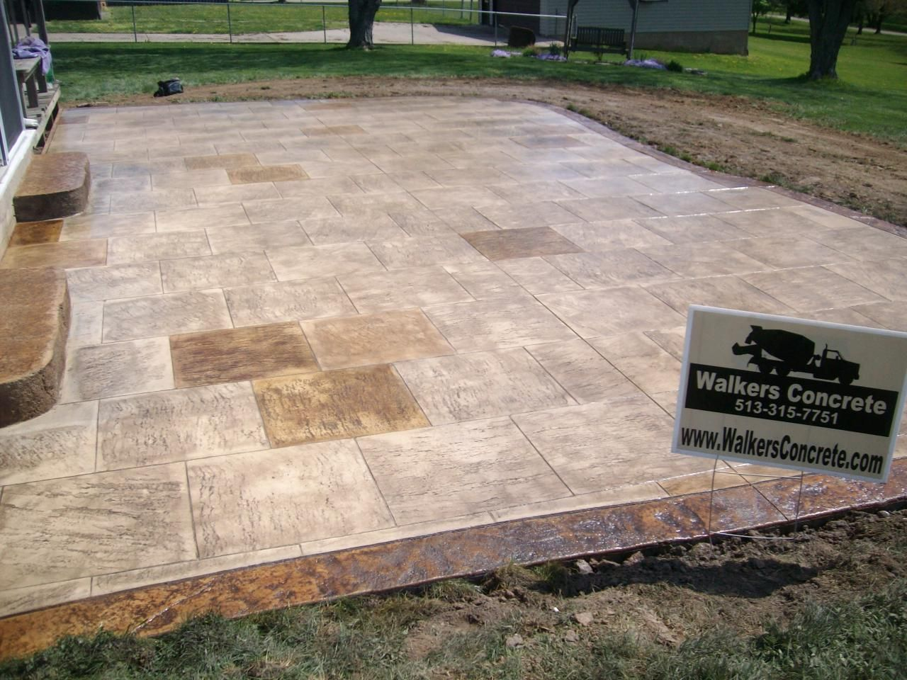 Stamped Concrete Designs And Colors | Stained/stamped Concrete