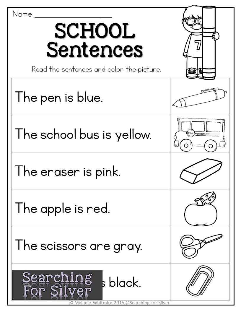 School sentences [ 1056 x 816 Pixel ]