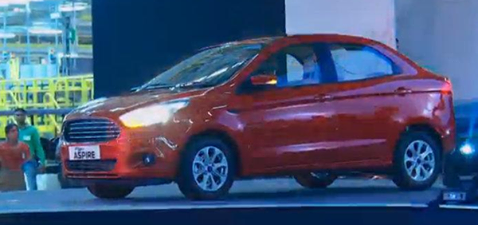 Official Name Of Upcoming Ford India Launch Is Figo Aspire Sedan