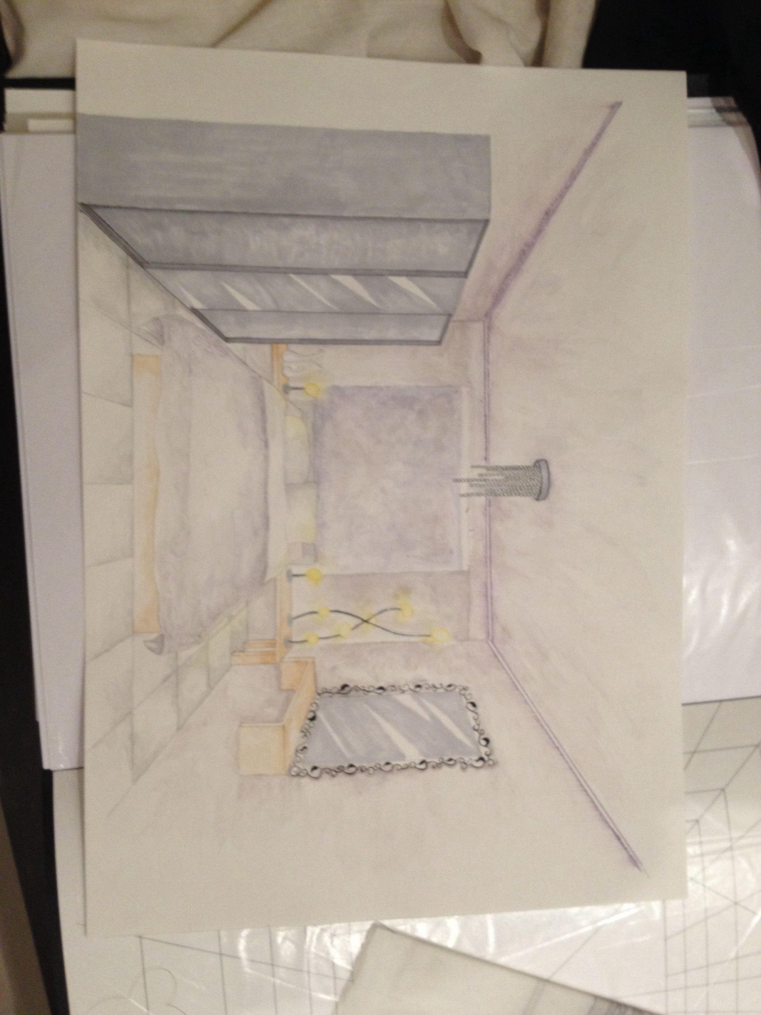 منظور غرفه نوم Interior Design Design Interior