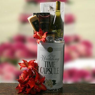 Wedding Time Capsule Wedding Gift Gift Basket Ideas Pinterest
