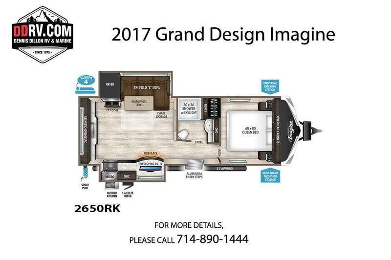 2017 Grand Design Imagine 2650rk For Sale Westminster Ca Rvt