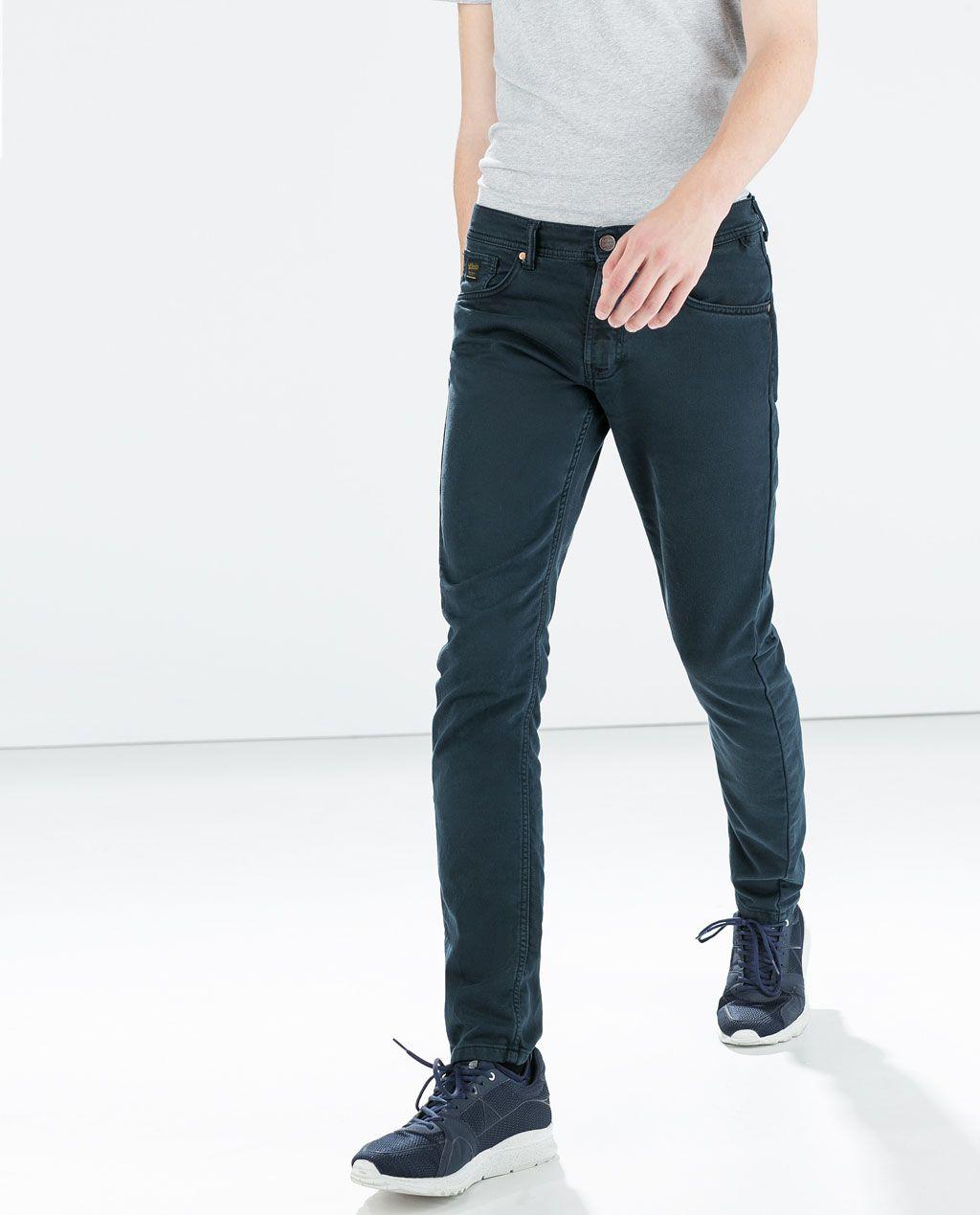 Zara Man Soft Denim Jeans Stuff To Buy Pinterest Menswear
