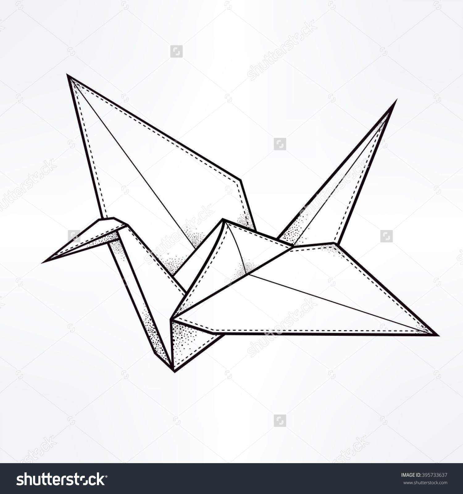 Origami Crane Google Search A Murder Of Crows Pinterest