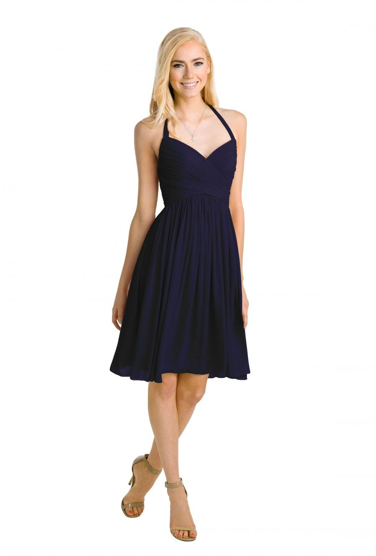 Watters mulberry chiffon bridesmaid dresses halter bridesmaid dress rental 110 ombrellifo Choice Image