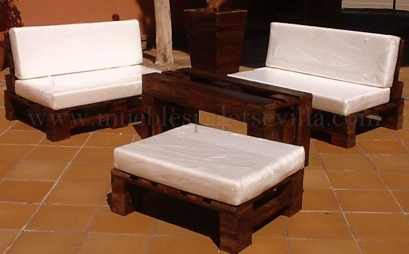 Resultado de imagen para muebles de jardin con tarimas mueble