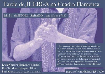 El Cajón Flamenco: Tarde de juerga na Cuadra Flamenca neste sábado