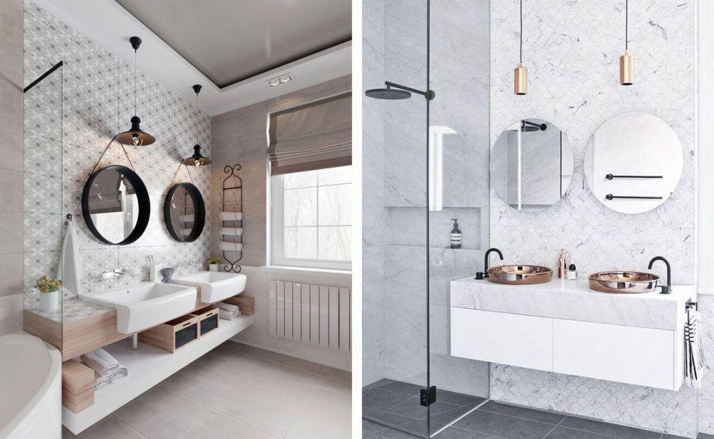 Espejos redondos para el cuarto de baño | Tendencias de ...