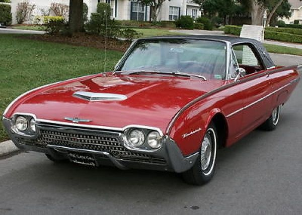 Ford Thunderbird Landau Coupe 60k Miles Lovely Top Of The Line