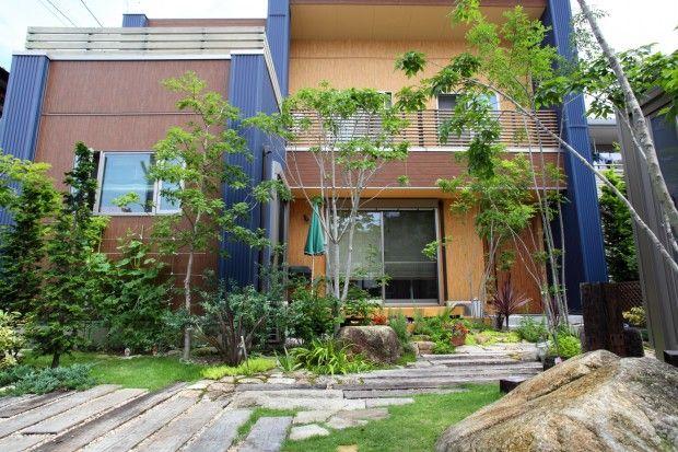 枕木木の庭 - 写真08   平山庭店