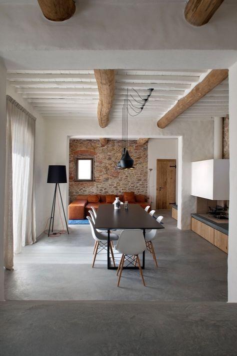 Idées pour rénover une maison de campagne avec piscine living n - Gites De France Avec Piscine Interieure
