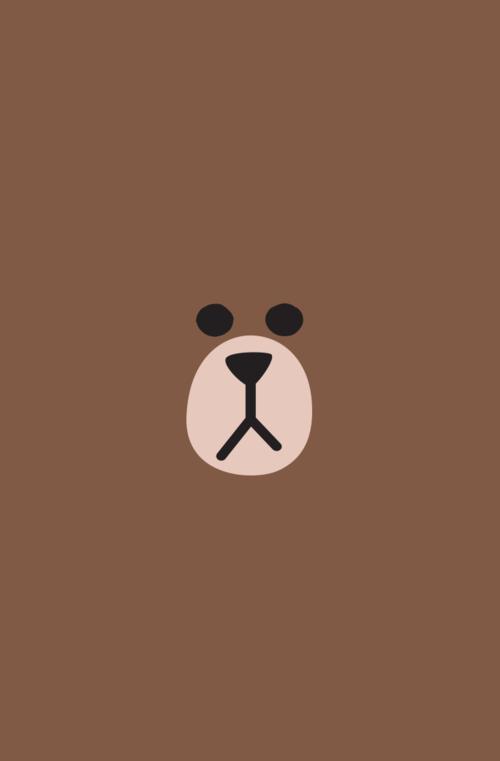 Immagine Di Brown Line And Bear Sfondi Carini Sfondi Iphone Immagini