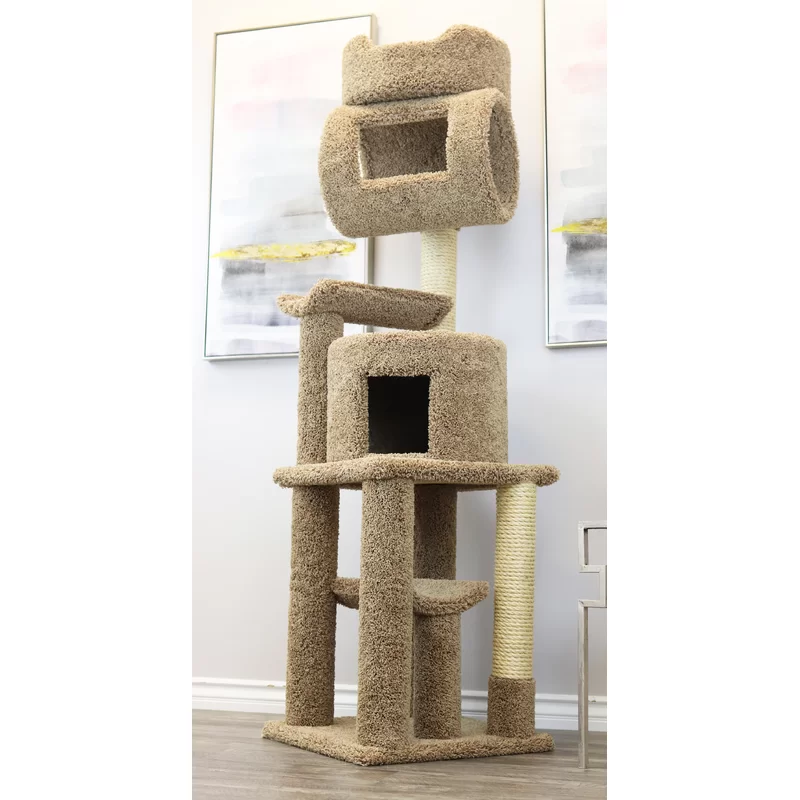 71 Kitty Playstation Cat Condo Cat Condo Modern Cat Tree Modern Carpet