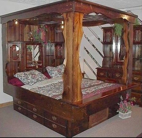 Good What All Of Our Parents Bedrooms Looked Like. Actually I Still Have Mine.  With A Different Mattress.