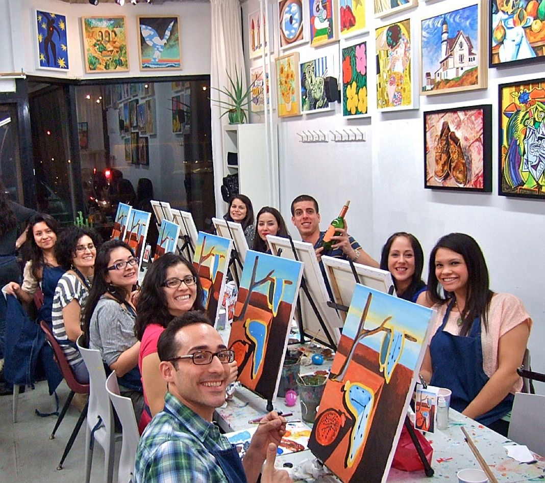 Art Classes Nyc Brooklyn Queens Painting Lessons New York City