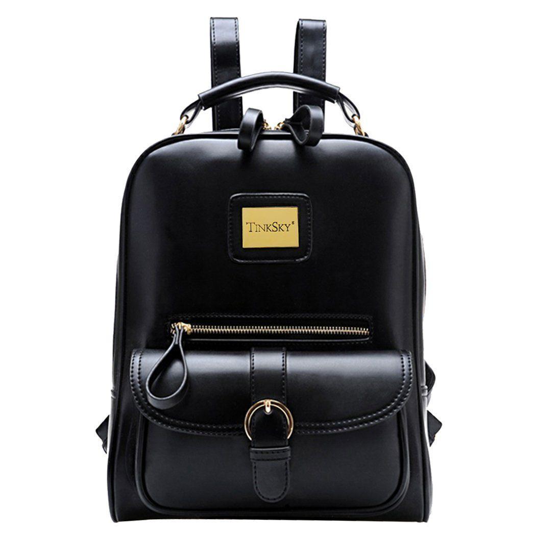 tinksky sac dos femme sac voyage sac dos cuir cartable. Black Bedroom Furniture Sets. Home Design Ideas