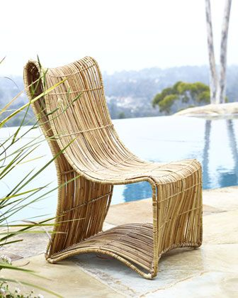 Eco-Logic Woven Chair at Horchow. | Outdoor furniture | Pinterest ...