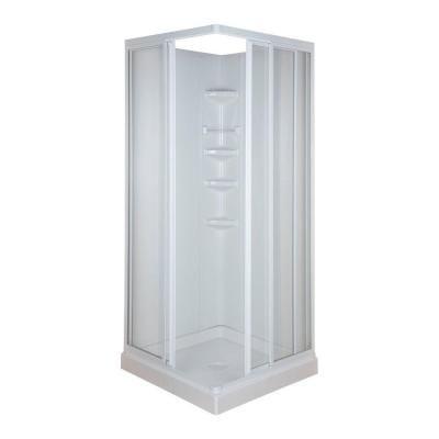 32 In X 70 3 4 Standard Fit Corner Shower Kit 401060 At The Home Depot Tablet