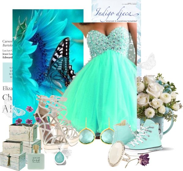 """""""Blue Prom"""" by rjkeener on Polyvore"""