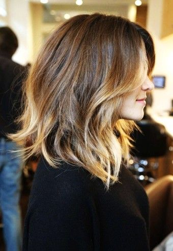 Diy caramel ombre highlights dark brown hair dye for short or diy caramel ombre highlights dark brown hair dye for short or medium hair girls pmusecretfo Image collections
