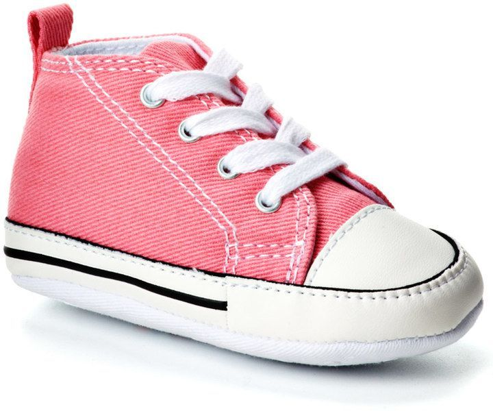 73816f2420591e Converse Baby First Star Crib Shoes in 2018