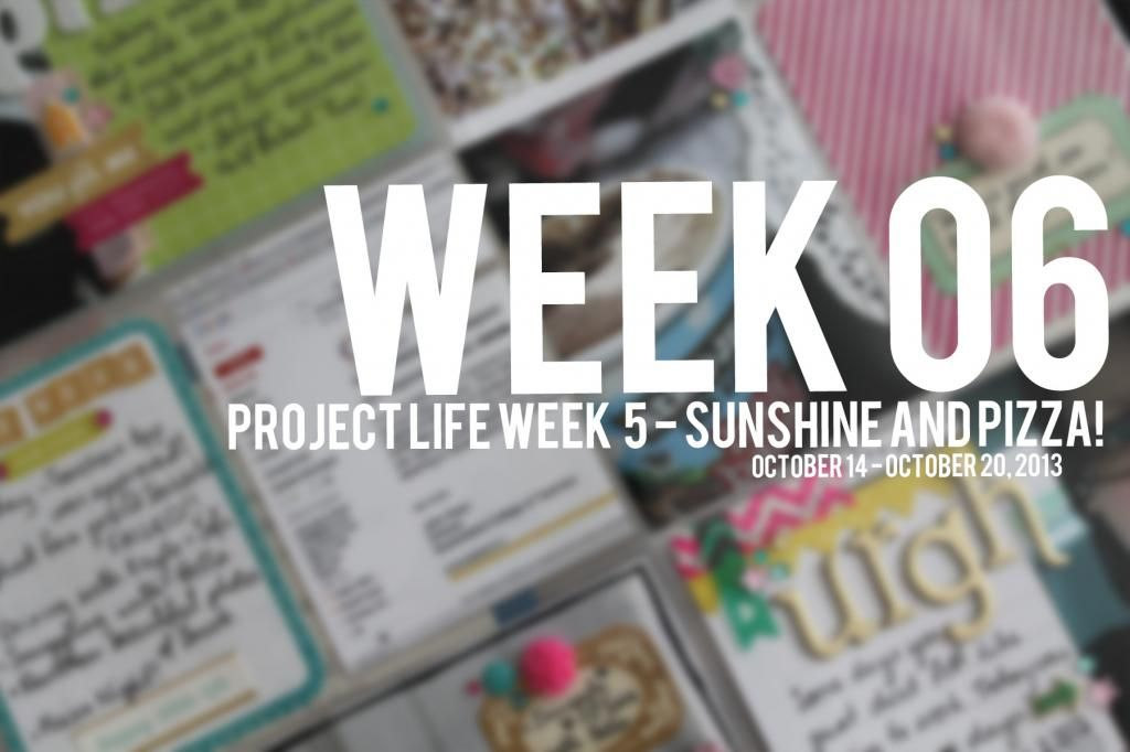 project life - week 6