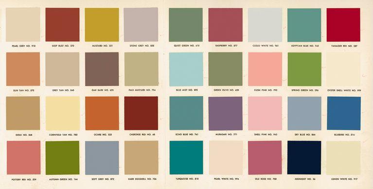 1950 S Mid Century Modern Colors Mid Century Modern Decor