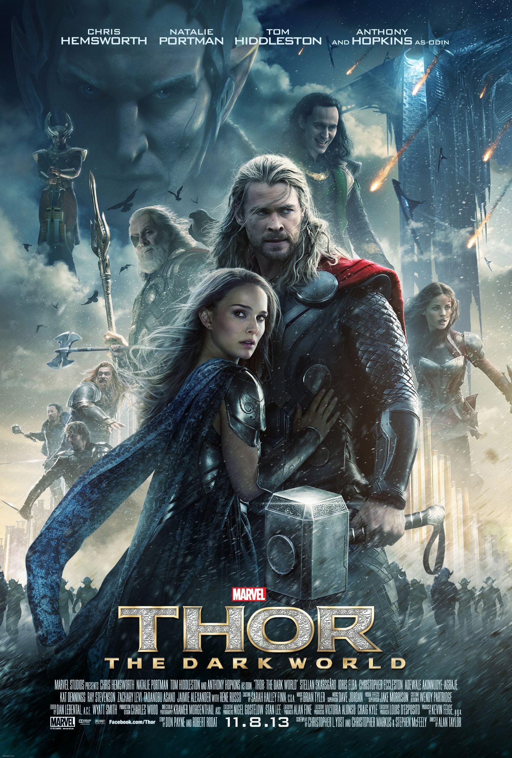 Three New Clips From Marvel S Thor The Dark World Peliculas