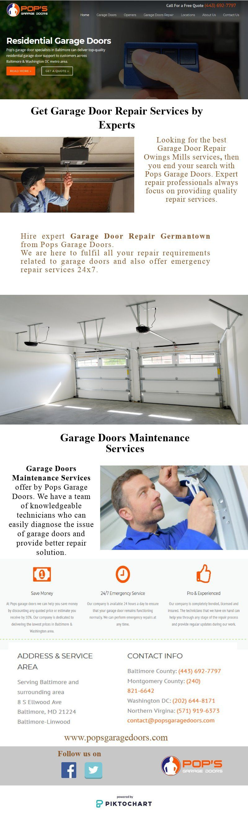 Choose best garage door installation opener services