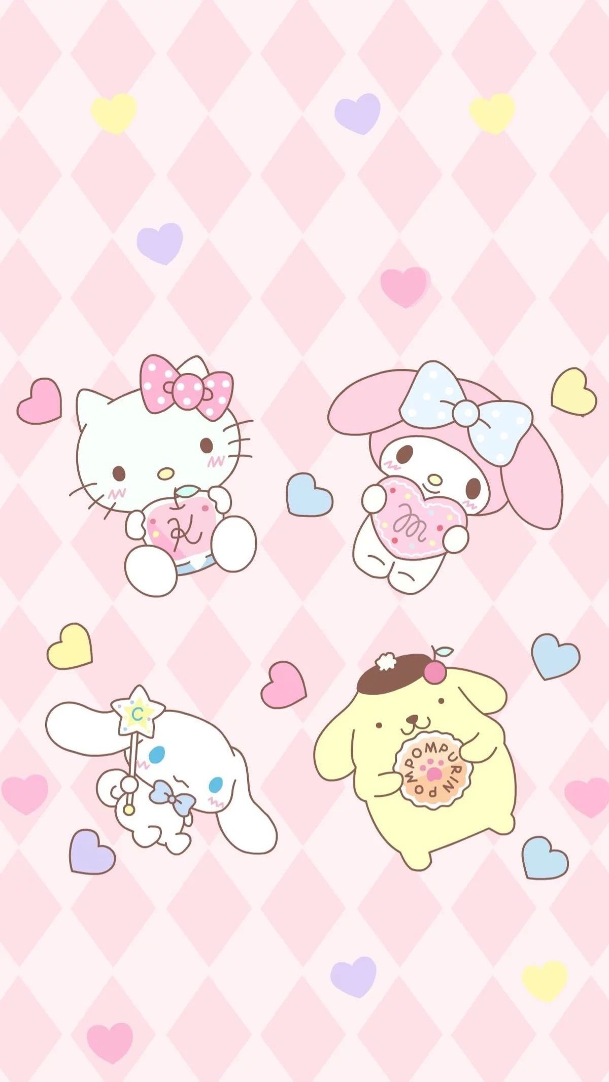 89 Kawaii Phone Wallpapers On Wallpaperplay Hello Kitty Pictures Sanrio Wallpaper Hello Kitty Images