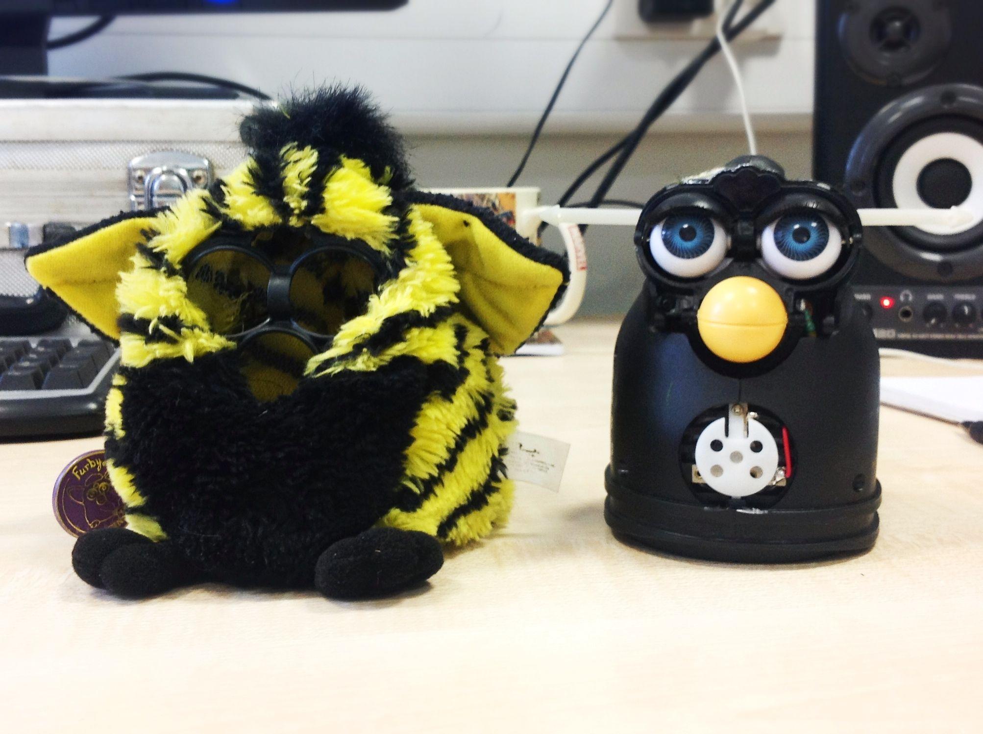Furby Skin Furby Robotic Toys Gaming Products