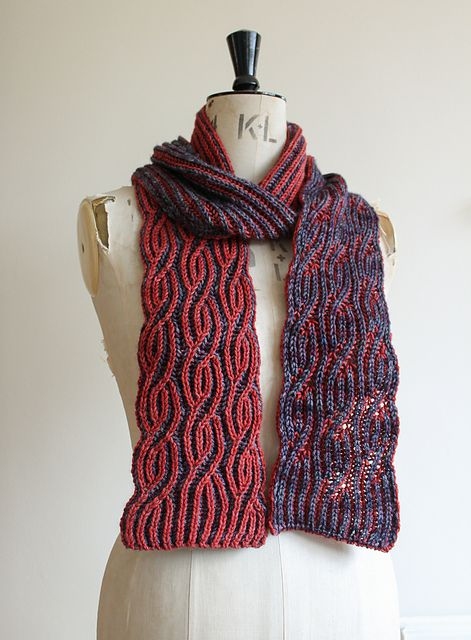 Brioche Twister pattern by Renée Callahan | Knitting ...