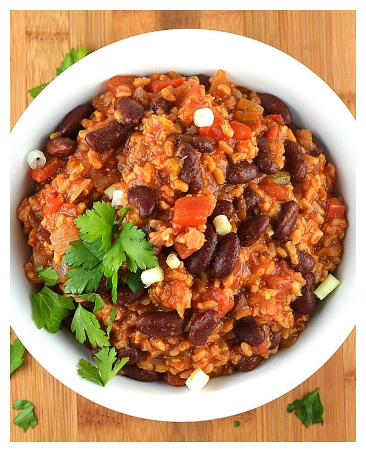 Meatless Monday Vegan Red Beans And Rice By The Veg Life