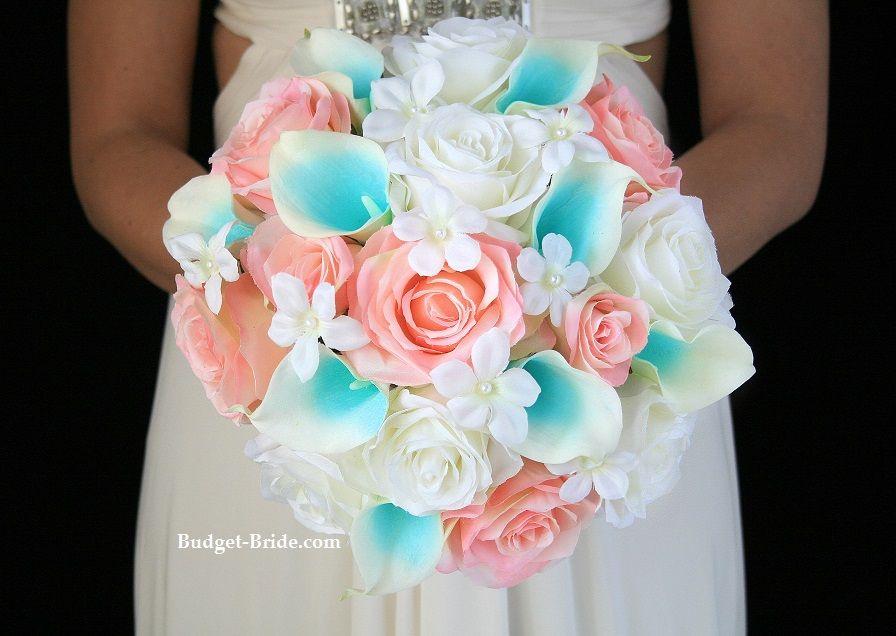 Pink and tiffany wedding