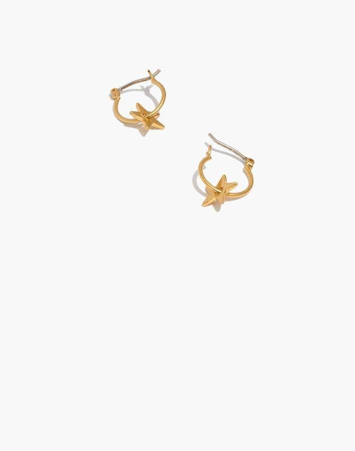 7fae4ef91727f Star Charm Mini Hoop Earrings #wear#day#charms   Women Fashion Edgy ...