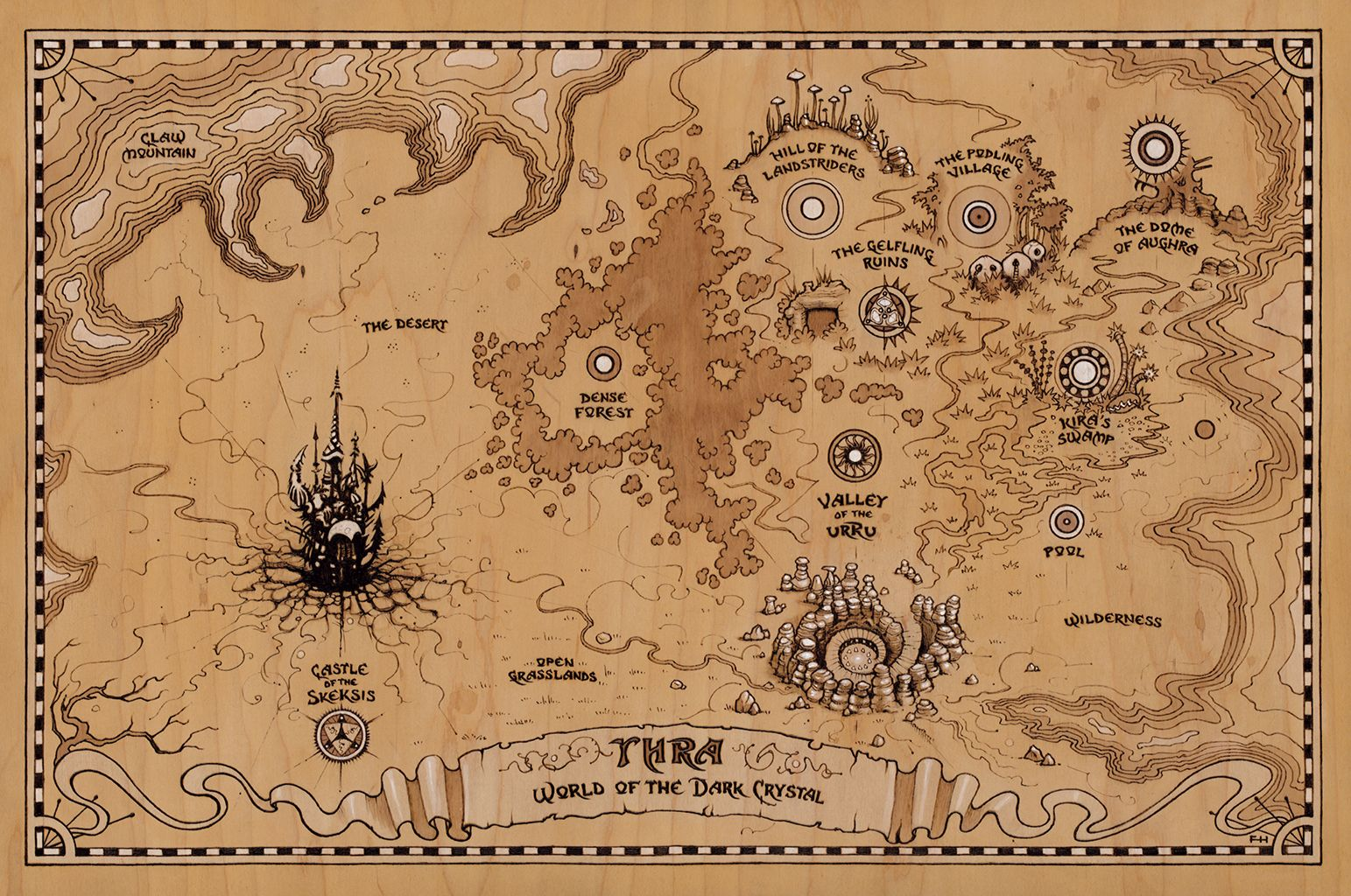 Map Of Thra