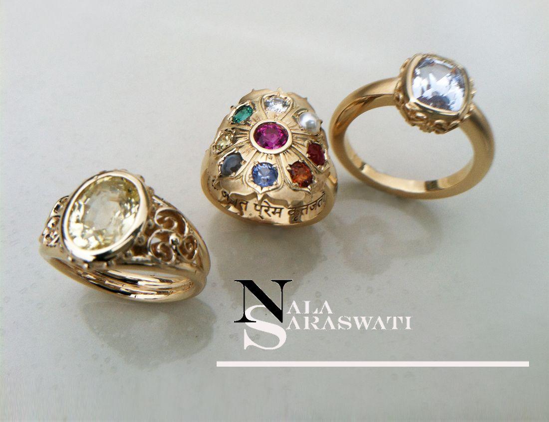 WorldClass custom design jewelry by Nala Saraswati handmade